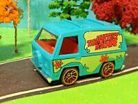 scooby doo, the mystery machine, hot wheels, 2012, hw-imagination, movie car
