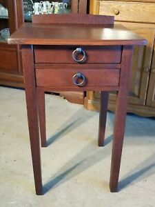 Gustav Stickley Style Nightstand