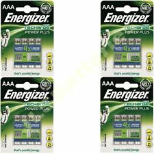16 x ENERGIZER AAA 700 mAH POWER PLUS Rechargeable Batteries ACCU 700
