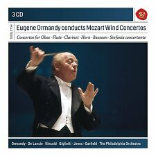 Eugene Ormandy Conducts Mozart Wind Concertos PHILADELPHIA ORCHESTRA 3CD-Box-OVP