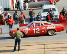 BOBBY ALLISON 1972 #12 COCA COLA AT RIVERSIDE 8X10 GLOSSY PHOTO #7Y