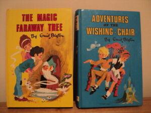 The Magic Faraway Tree / Adventures Of The Wishing Chair / Enid Blyton vintage