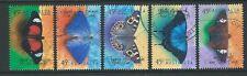 AUSTRALIA 1998 BUTTERFLIES SET OF 5 FINE USED SG 1810-4