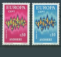 timbres  EUROPA   n 217/218 neuf sans charniere cote 41 euros