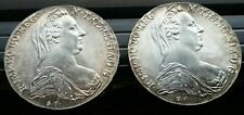 2- M. THERESIA of AUSTRIA 83.3% Silver Coin 1780 Archid Avst Dux Burg Co Tyr #47