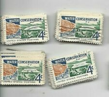 U.S. Stamps Scott 1150 .04 Cent Water Conservation 100 used  7/30