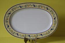Tirschenreuth Lemon Olive Servierplatte Platte 32 x 22 cm