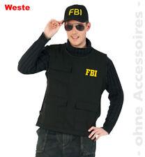 Fbi Gilet Costume pour Homme Police Sonderkomando Costume pour Homme