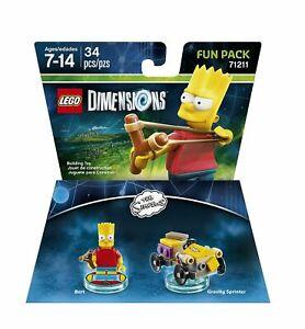 LEGO Dimensions Simpsons Krusty Clown Bike Fun Pack 71211 - Sealed - New