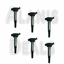 New Premium High Performance Ignition Coil Set (6) For Lexus & Toyota 2005-2015