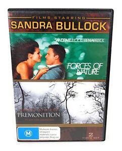 Premonition/Forces of Nature DVD Sandra Bullock Region 4 Free Postage