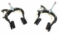 Old School Caliper Brake Bicycle Mountain Caliper Brake Set Black BMX MTB Bikes