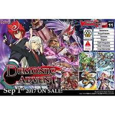 CARDFIGHT!! VANGUARD G * Booster Vol. 11: Demonic Advent Box (16 Boosters)