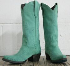 Lane Boots Ashlee Lace Women's Western Cowgirl Boots Size 7.5