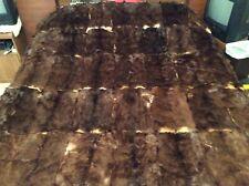 """Fur Blanket Bed Spread 86"""" X 72"""" Queen Size"""