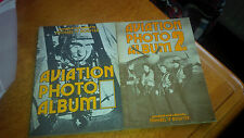 Two Volumes of the Aviation Photo Album by Michael Bowyer