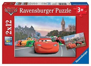 Puzzle Disney Pixar Lightning Mc Queen Cars Hook Sally Harv Flo Wingo Ramone Jay