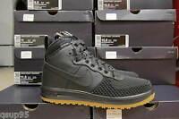 Nike Lunar Air Force 1 DuckBoot Black Wheat Gum Bottom 805899 003 Men Size 7-15