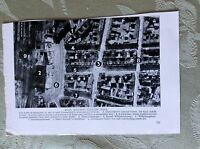 a2c ephemera ww2 picture 1942 aerial view dusseldorf r a f bombing