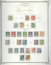 Classic DENMARK...#210//245...1930//34...26 Diff...Mint & Used...SCV $18.70