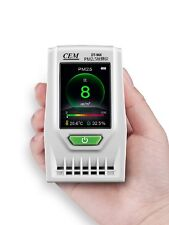 Mini Particle Counter PM2.5 PM10 Air Temperature Humidity Meter 3in1 2.4''TFTLCD