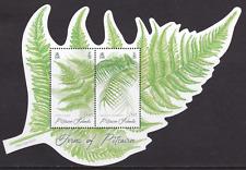 PITCAIRN ISLANDS - 2016 - Miniature Sheet: Ferns of Pitcairn. Mint NH