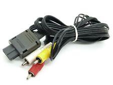 Official Nintendo 64 N64 SNES GameCube SFC GC AV Cable Cord Tested! Original