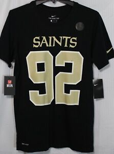 NIKE New Orleans Saints #92DAVENPORT Jersey Style Men's Shirt, SMALL, 926528-019
