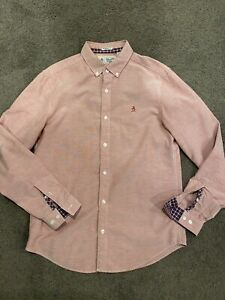 Original Penguin Mens Oxford Slim Fit Shirt - Medium