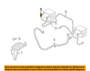 GM OEM-Battery Cable 12157435