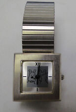Tintin just Snowy square watch ladies in decorative tin Year 2000 #4