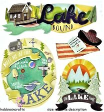 EK SUCCESS JOLEE'S BOUTIQUE 3-d Stickers-Boathouse Angel-Lake