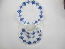 Thomas Medaillon Kaffeegedeck 3 Tlg  kobaltblaues Ornament