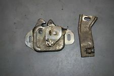 1964-66 Chrysler Imperial 2 Piece Hood Latch Assembly Good working Original