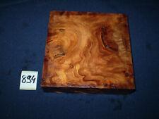 Rüster Maser Ulmenmaser   125 x 125 x 31 mm      Nr: 894