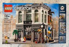 LEGO 10251 Creator Expert Brick Bank - *NEW Factory Sealed* - Slight Dent in Box