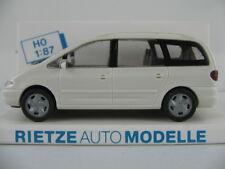 Rietze 10750 VW Sharan I (1995-2000) in weiß 1:87/H0 NEU/OVP
