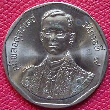 THAILAND 2 Baht Coin 1988 Rama IX 42nd Anniversary of Reign   UNC.   (077)