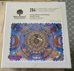 WENTWORTH WOODEN PUZZLE CEILING AT RUSTERN PASHA MOSQUE ISTABUL TURKEY 284 PIECE