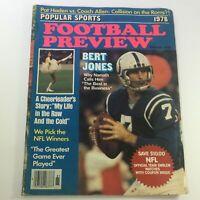 VTG Football Preview Magazine October 1978 - Bert Jones / Joe Namath / Newsstand