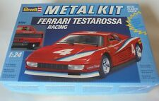 Ferrari Testarossa Racing 1/24 Unbuilt Metal Kit Revell Bburago Mint Boxed