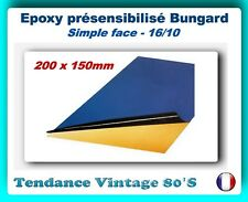 *** PLAQUE EPOXY SF PRESENSIBILISEE 1 FACE 16/10EME - 200 X 150MM ***