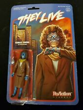 "THEY LIVE: FEMALE ALIEN GHOUL / 3.75"" Action Figure Classic John Carpenter Movie"