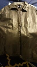 GAP Leather Jacket Men's XL