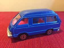 Majorette Toyota Lite Ace, Blue, 1/52 # 216. Back opens. Made In France Die Cast