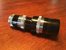 Meyer Gorlitz 100mm f2.8 Trioplan C-mount 16mm Movie Camera Lens Bolex Angenieux