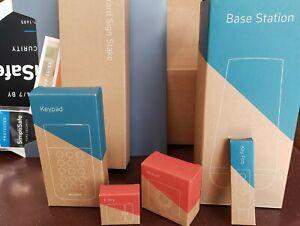 SimpliSafe 5 Piece (GEN 3) Wireless Home Security System New!
