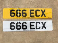 private number plates dateless