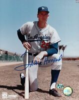 Frank Howard Signed 8X10 Photo Autograph LA Dodgers Pose on Knee Auto Light COA