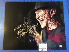 Robert Englund Signed 16x20 Photo Freddy Krueger Friday the 13th Beckett COA 4